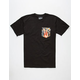BOHNAM Burnin Mens Pocket Tee