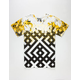 YRN Gold Splatter Mens T-Shirt