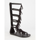 SODA Pass Fringe Womens Gladiator Sandals