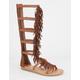 SODA Pass Fringe Womens Gladiator Sandals