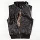 FULL TILT Faux Leather Hooded Womens Vest