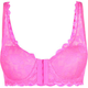 Front Hook Lace Push Up Bra