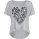 FULL TILT Crosses Womens Boxy Tee