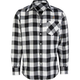 STRAIGHT FADED Check Buffalo Boys Flannel Shirt