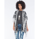 FULL TILT Southwest Fringe Womens Poncho
