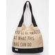 TOMS You'll Be Amazed Transport Tote
