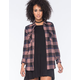 RVCA Wanted Womens Flannel Shirt