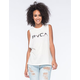 RVCA Rosie Womens Muscle Tank