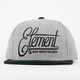 ELEMENT Aidan Mens Snapback Hat