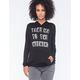 FULL TILT Take Me To The Weekend Womens Hoodie