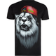 ELDON Graph Lion Mens T-Shirt