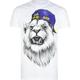 ELDON Graph Lion Mens T-Shirt