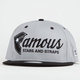 FAMOUS STARS & STRAPS Fast Break New Era Mens Snapback Hat