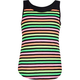 FULL TILT Neon Stripe Girls Tank