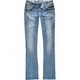 VANILLA STAR Destructed Womens Bootcut Jeans