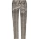 VANILLA STAR Snake Print Womens Skinny Pants