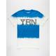 YRN Color Block Mens T-Shirt