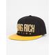 YRN Gold Logo LTD Mens Snapback Hat