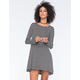 SOCIALITE Striped Swing Dress
