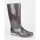 TOMS Tribal Print Womens Cabrilla Rain Boots