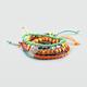 FULL TILT 6 Piece Bead and Braid Bracelets