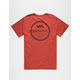 RVCA Circle Type Mens Pocket Tee
