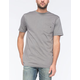 VOLCOM Solid Mens Pocket Tee