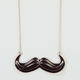 FULL TILT Epoxy Mustache Necklace