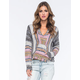 BILLABONG Baja Crop Womens Poncho Sweater