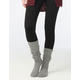 FULL TILT Marled Cuffed Womens Knee High Socks