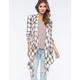 BILLABONG Once Again Womens Flannel Wrap