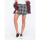 FULL TILT Womens Plaid Skirt