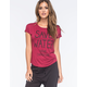 FULL TILT Save Water Drink Champagne Womens Tee