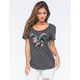 NEFF Disney Collection Astro Floral Mickey Womens Tee