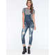 MACHINE Destroyed Womens Overalls