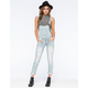 MACHINE Destructed Womens Overalls