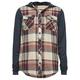 FULL TILT Girls Hooded Flannel Shirt