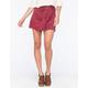 H.I.P. Suede A-Line Womens Skirt