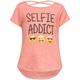 FULL TILT Selfie Addict Girls Tee