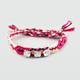 FULL TILT 3 Stone Woven Friendship Bracelet