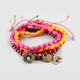 FULL TILT 4 Piece Beaded Charm Bracelets