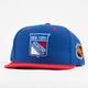 AMERICAN NEEDLE Blockhead Rangers Mens Snapback Hat
