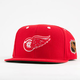 AMERICAN NEEDLE Blockhead Red Wings Mens Snapback Hat