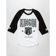 LAST KINGS Defense Mens Baseball Tee