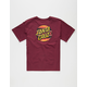 SANTA CRUZ Serape Dot Boys T-Shirt