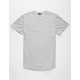 ELWOOD Curved Hem Mens Tall Tee
