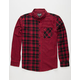 RETROFIT Patchwork Mens Flannel Shirt