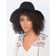 Twisted Band Floppy Womens Fedora