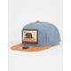 OFFICIAL Blue Cali Bear Mens Snapback Hat