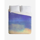 DENY DESIGNS Bonne Nuit Blue Duvet Cover